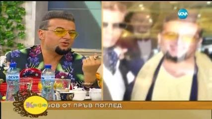 На кафе с Евгени Минчев