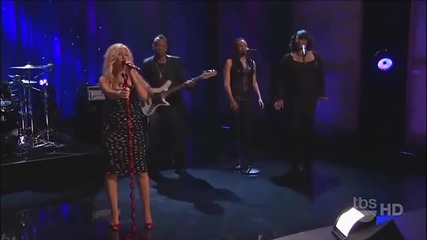 Christina Aguilera - Something's Got a Hold On Me live Hd