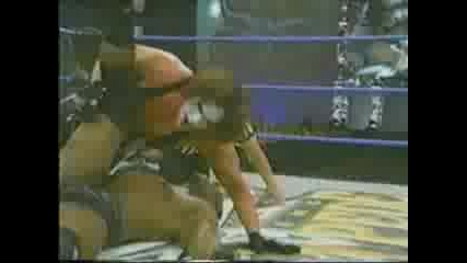 Sting Vs. Booker T. Wcw Spring Stampede 2000
