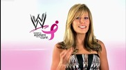 Make Mom Proud: Lilian Garcia shows her support for Susan G. Komen for the Cure
