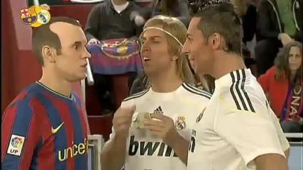 100 Смях ! Пародия! Иниеста срещу Роналдо