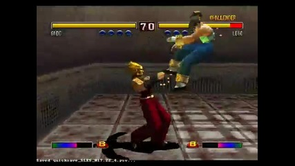 [bloody Roar 2] The Funny Combo 3 by Tkp