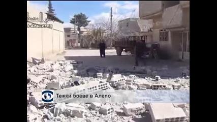 Кървава атака на джихадистите срещу централата на сирийското разузнаване в Алепо