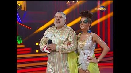 Dancing Stars - Извънземното пасо добле на Ути и Елена (01.04.2014 г.)