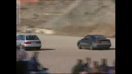 Opel Calibra vs Audi