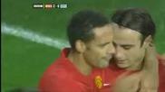 Изумителен финт на Бербатов, който завършва с гол на Роналдо!