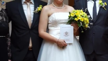 Сватбата на Добромир и Венета - видеозаснемане студио
