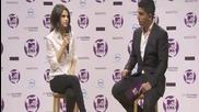 Интервю на Селена от пресконференцията на Ema 2011