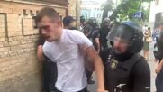 Ukraine: Anti-LGBTQ+ protesters scuffle with police in Kiev amid rave Pride rally