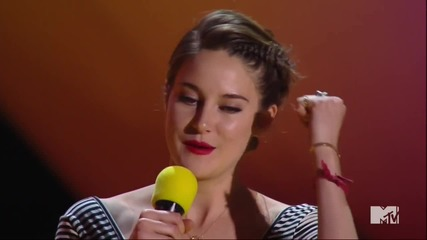 Shailene Woodley 'Fault in Our Stars' Sweeps the 2015 MTV Movie Awards