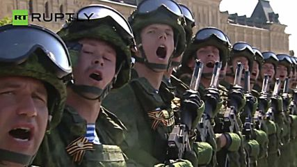 Russia Celebrates Defeat of Nazi Germany with 71st Moscow Victory Day Parade