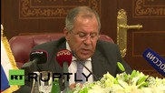 Qatar: We support Syrian govt to combat ISIS terror - Lavrov