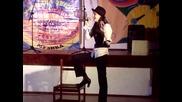 Страхотен в изпълнение на Стефани Атанасова - Cabaret
