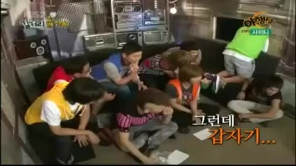 funny moment with shinee