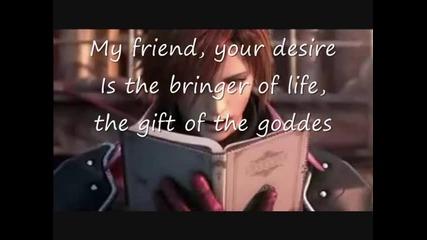 Final Fantasy Vii - Loveless Poem read by Genesis