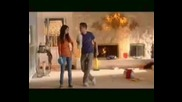 Selena Gomez and Andrew Seeley Dancing Cleaning House