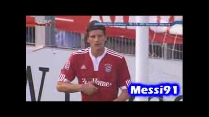 21.07 Байерн Мюнхен - Щутгарт Кикерс 10:0 Марио Гомес втори гол