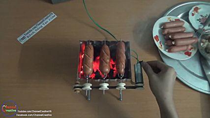 Как да си направим домашна грил машина