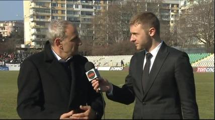 Никола Спасов: Фаворити сме, но гостуването няма да е лесно