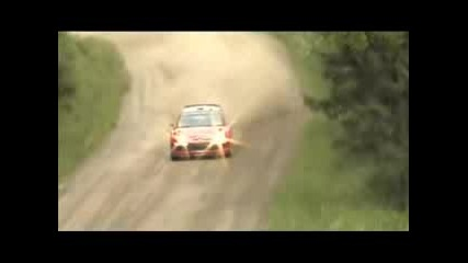 Sebastien Loeb - Citroen C4 Wrc Test