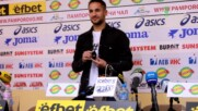 Борислав Цонев бе награден за футболист номер 1 за месец август