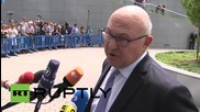 """Belgium: Greek debt reduction a """"red line"""" - French FinMin Sapin"""