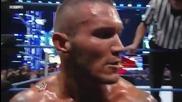 Randy Orton destroy Cody Rhods
