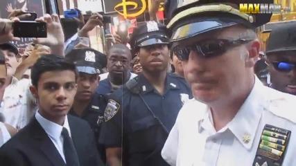 Двойник на Барак Обама в Ню Йорк