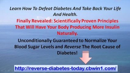 How To Reverse Diabetes Now - Your Diabetes Cure