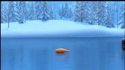 замръзналото кралство Олаф и Свен !