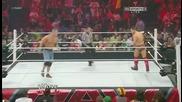 Миз срещу Джон Сина - Raw 08/27/12