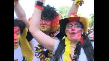 Берлин се взриви след успеха на Германия над Англия