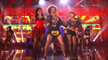 Lmfao - Party Rock Anthem& Sexy And I Know It | American Music Awards 2011