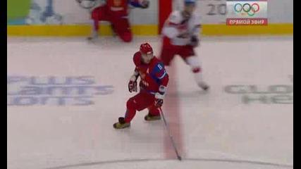 Ванкувър Хокей: Русия - Чехия асистенцията на Овечкин
