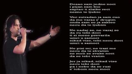 Aca Lukas - Umri u samoci - (Audio - Live 1999)