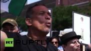 """USA: """"Free Oscar Lopez!"""" rally hits Harlem"""