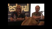 Def Leppard - Press Conference 2008