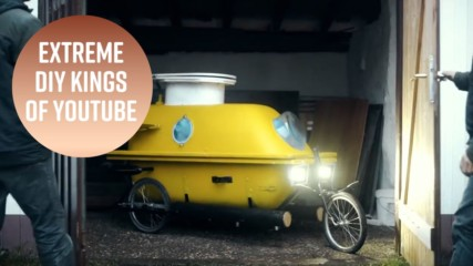 Bathtub submarine? These guys make awesome contraptions