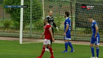 ЦСКА - Стал Миелец 0:0 /първо полувреме/