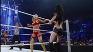 Aj Lee & Paige vs. Summer Rae & Layla: Smackdown, July 18, 2014