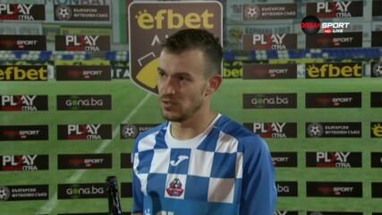 Тони Тасев след победата над Ботев: Превъзхождахме ги във всичко