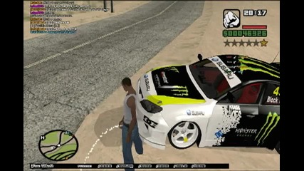 Gta San Andreas- Multiplayer Drift (made By Styfers32)