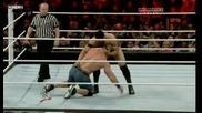 John Cena vs David Otunga Cena го насра