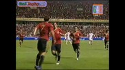 Spain - Belgium 2 - 0 Goal na David Villa