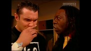Wwe 2005.12.30 Randy Orton и Booker T Backstage