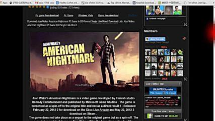Как да изтеглите Alan Wakes American Nightmare игра компютър