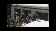 Ескортираха Писториус от съда към затвора