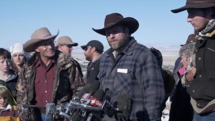 USA: Ammon Bundy defends Oregan armed militia protest