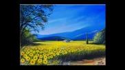 Sunflowers ... (painting) ... (music Giovanni Marradi)... ...
