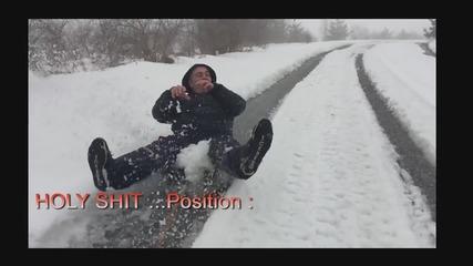 Снежно забавление 2015 на забавен кадър